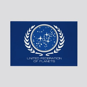 United Federation of Planets Rectangle Magnet