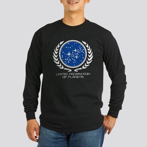 United Federation of Planets Long Sleeve Dark T-Sh