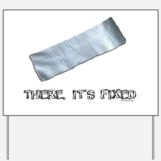 Duck Tape Yard Sign