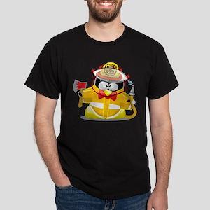 Fireman Penguin Dark T-Shirt