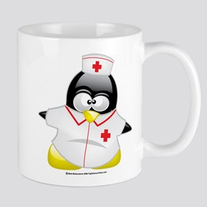Nurse Penguin Mug