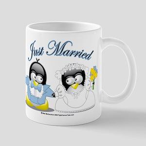 Penguin Wedding Mug