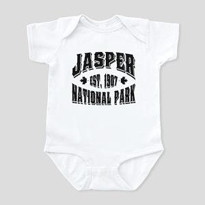 Jasper Old Style Black Infant Bodysuit
