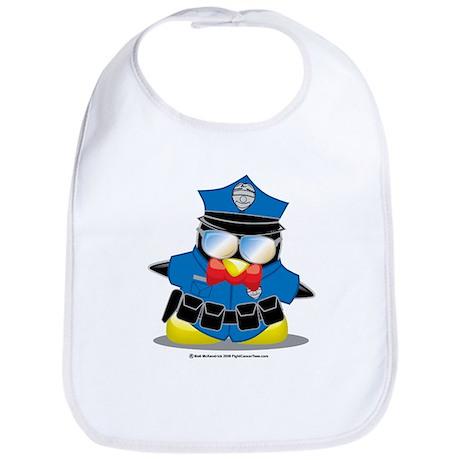 Police Penguin Bib