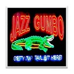 Jazz Gumbo Tile Coaster