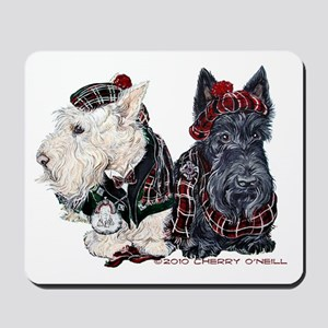Scottish Highland Terriers Mousepad