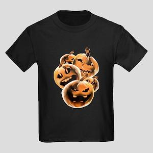 Rotten Pumpkins Kids Dark T-Shirt