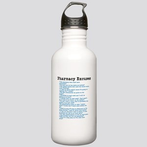 Pharmacy Excuses Water Bottle