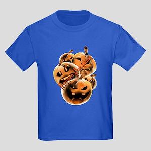 Rotten Pumpkins lettered Kids Dark T-Shirt