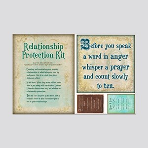Relationship protection kit cut out card 1
