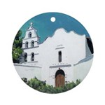 Mission San Diego holiday Ornament (Round)