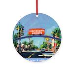 University Heights Ornament (Round)