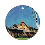 Marston House Holiday Ornament (Round)