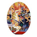 Riccoboni carousel Ornament (Oval)