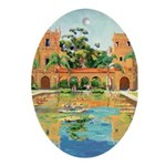 Riccoboni Reflections Ornament (Oval)