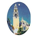 Riccoboni Balboa Park Ornament (Oval)