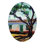 Riccoboni Old Adobe Ornament (Oval)