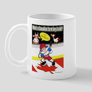 Hockey Farm Boy Mug