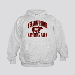 Yellowstone Old Style Vermill Kids Hoodie