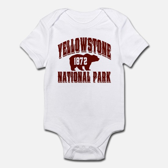 Yellowstone Old Style Vermill Infant Bodysuit
