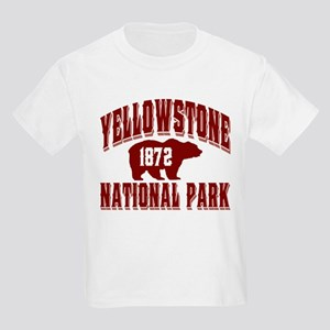 Yellowstone Old Style Vermill Kids Light T-Shirt