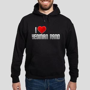 I Heart Yeoman Rand Hoodie (dark)