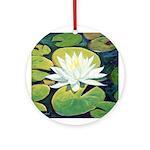 waterlily Ornament (Round)