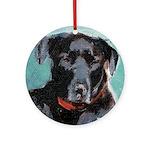 Labrador Retriever Ornament (Round)