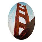 Goldengate Bridge Ornament (Oval)