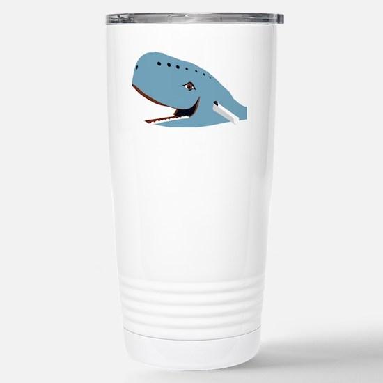 Cute Blue whale Travel Mug