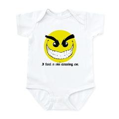 I Feel A Sin Coming On! Infant Bodysuit