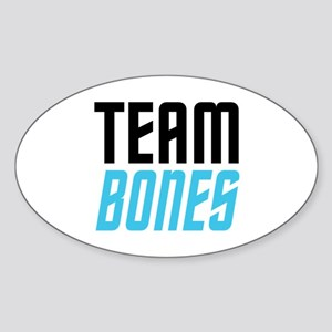 Team Bones Sticker (Oval 10 pk)