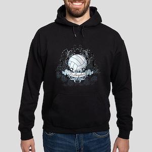 Volleyball Tribal Hoodie (dark)