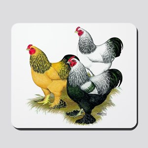 Brahma Rooster Assortment Mousepad