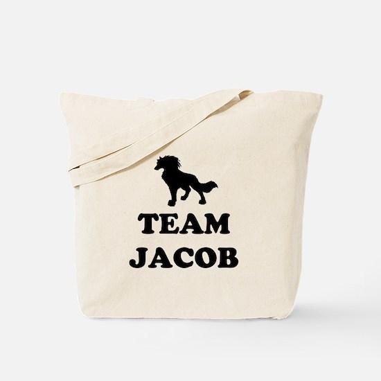"""""""Team Jacob"""" Tote Bag"""