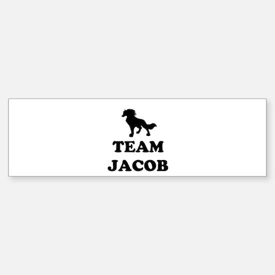 """Team Jacob"" Sticker (Bumper)"