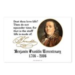 Ben Franklin Life-Time Quote Postcards (8 Pack)
