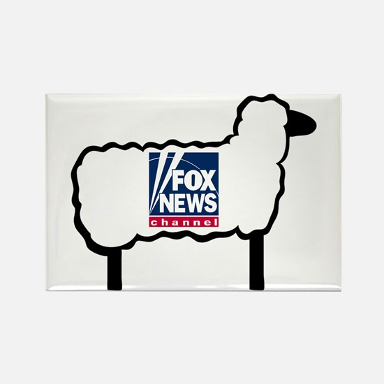 Good Sheep Rectangle Magnet