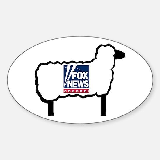 Good Sheep Sticker (Oval)