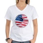 If Our Flag Offends You Women's V-Neck T-Shirt