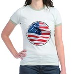 If Our Flag Offends You Jr. Ringer T-Shirt