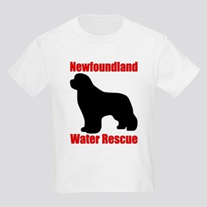 Water Rescue with Silhouette Kids Light T-Shirt