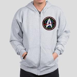 Starfleet Security Zip Hoodie