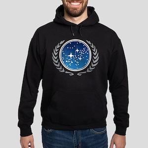 Federation of Planets Hoodie (dark)