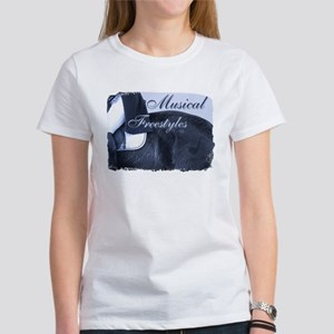 Dressage Musical Freestyle Note Women's T-Shirt