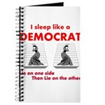 I Sleep Like a Democrat Journal