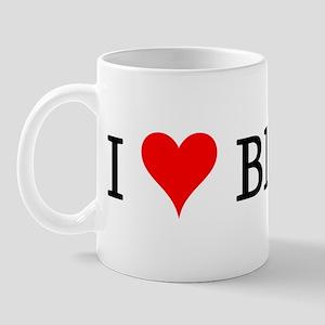 I Love Blondes Mug