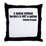 A Nation Without Borders... Throw Pillow
