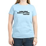 A Nation Without Borders... Women's Light T-Shirt