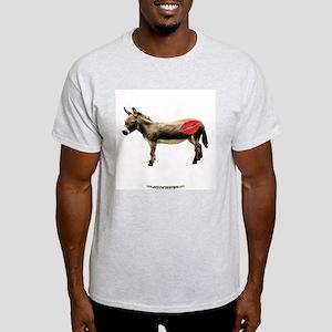 Kiss My Ass-simple Ash Grey T-Shirt